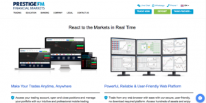 react the market real time