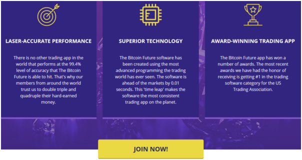 How does the Bitcoin Future App work